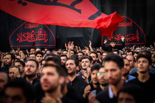 تصویری/محمود کریمی شب چهارم محرم (زمینه)