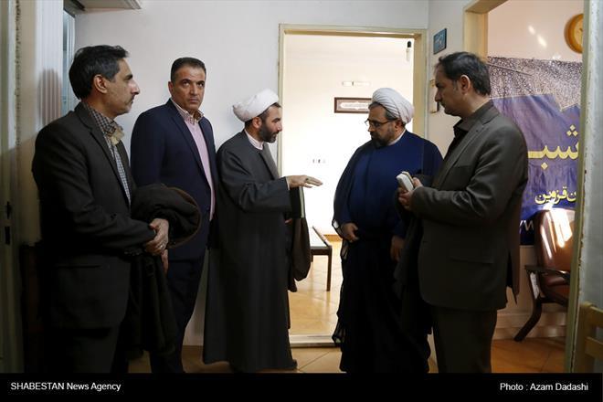 بازدید دکتر ارزانی رییس ستاد عالی  ازدبیرخانه کانون فرهنگی هنری مساجد قزوین
