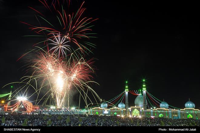 کلیپ/ مسجد مقدس جمکران در شب ولادت مهدي موعود(عج)