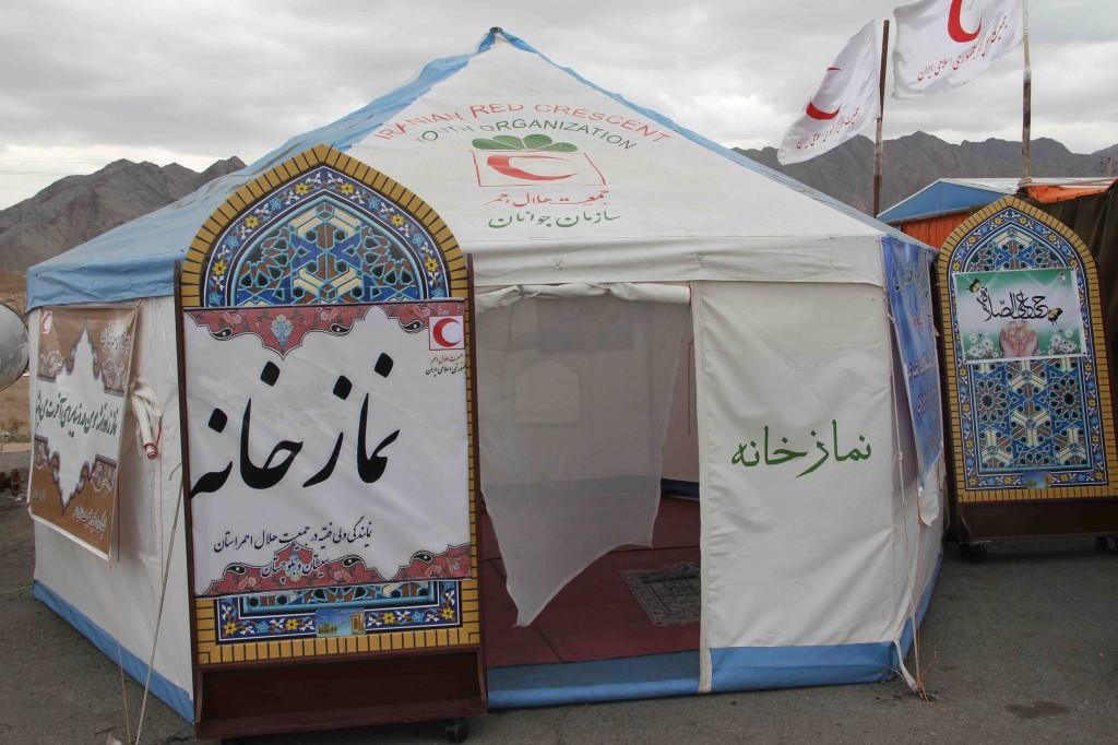 برپایی 11 خیمه نماز برای مسافران و گردشگران در اردبیل