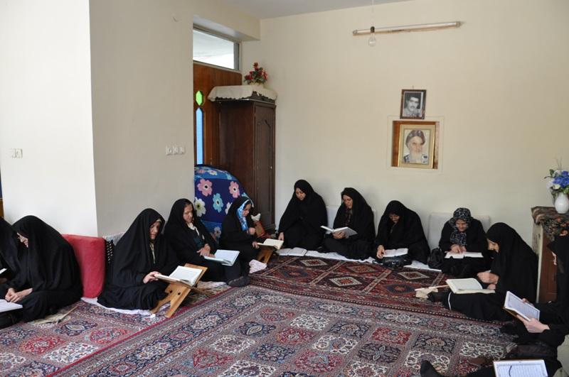 ۷۰ درصد جلسات خانگی قرآن در بجنورد مربوط به خواهران است