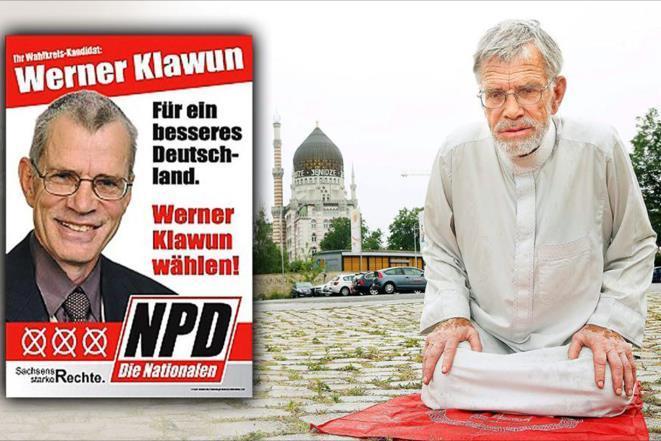 تغییر سیاست سیاستمدار حزب راست گرای افراطی آلمان بعد از تشرف به اسلام
