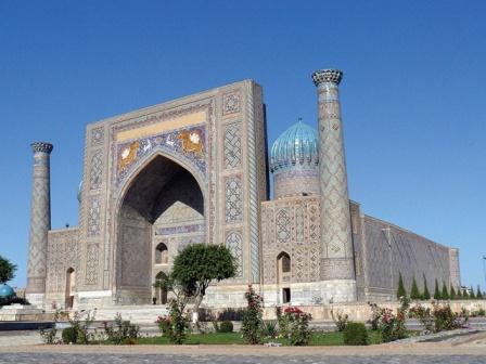 مسجد «بی بی خانم» در سمرقند+عکس