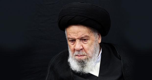 طرزکادوبستن روسری فرزندان ایت الله موسوی اردبیلی