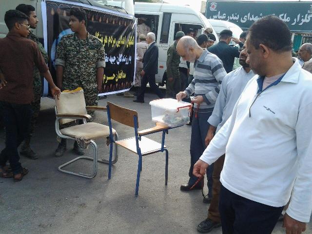 ارسال کمک های مردمی هرمزگان به رزمندگان اسلام در جبهه های مقاومت