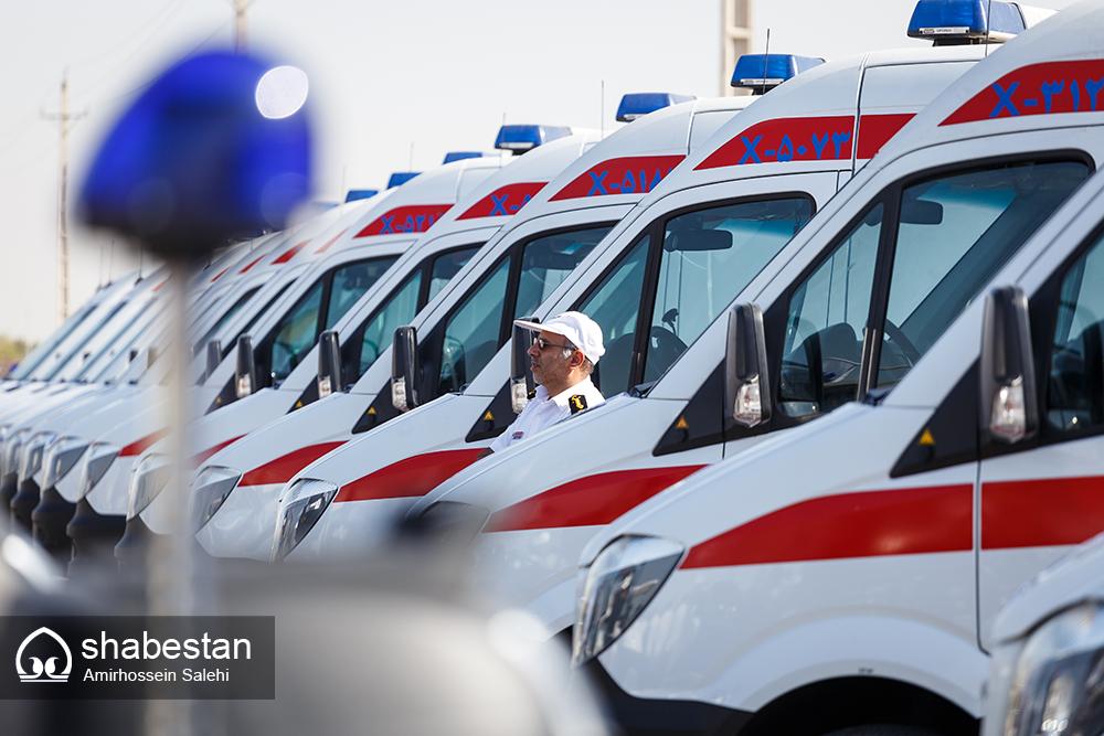 استقرار 30 نیروی اورژانس فارس در مرز شلمچه برای اجرای کارهای درمانی زائران اربعین حسینی