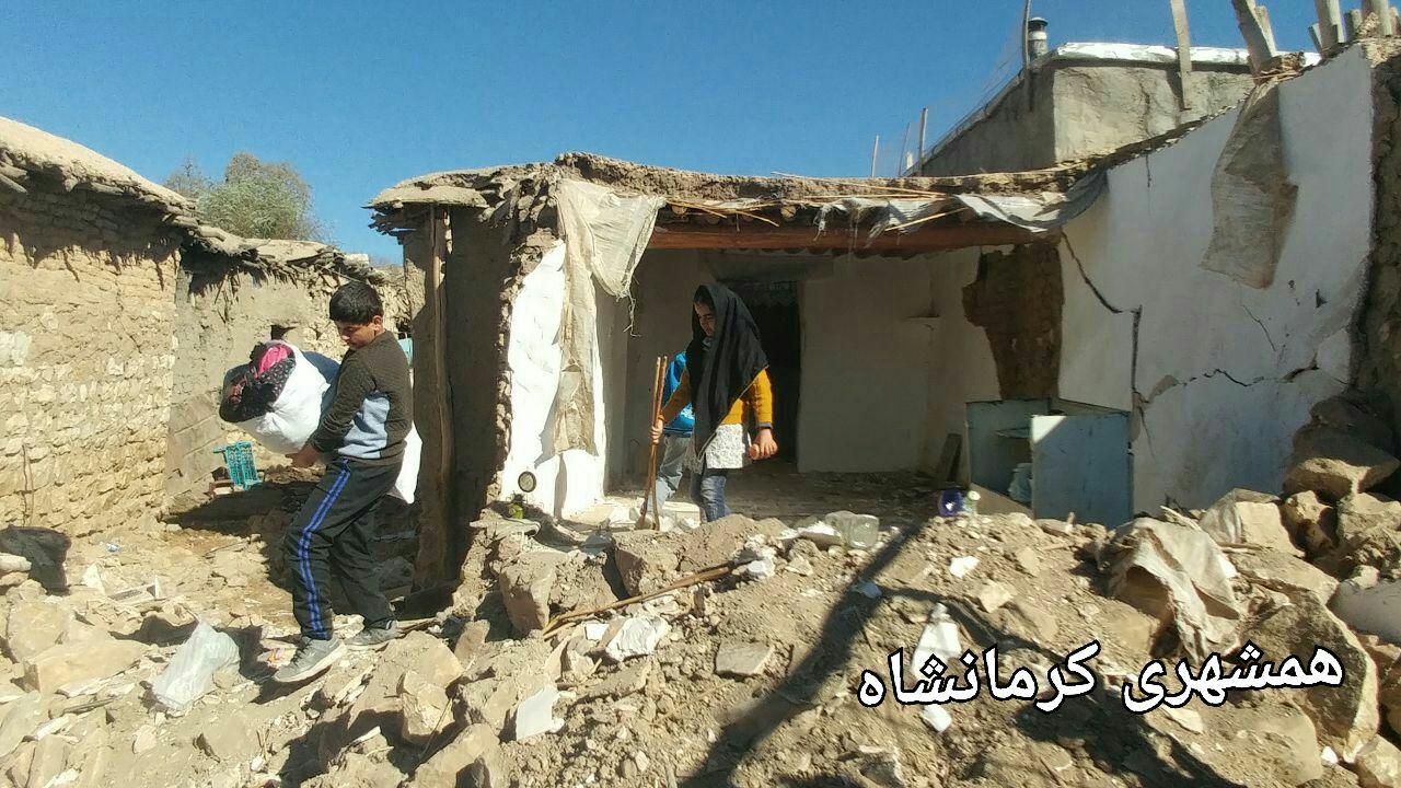 1930 روستا در زلزله کرمانشاه خسارتدیدهاند