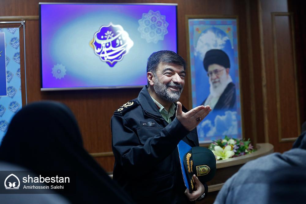 سردار احمدرضا رادان رئیس مرکز مطالعات راهبردی نیروی انتظامی