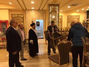 هتلهاي دانشگاهیان در عتبات عاليات توسط مسئولان ستاد بازدید شد