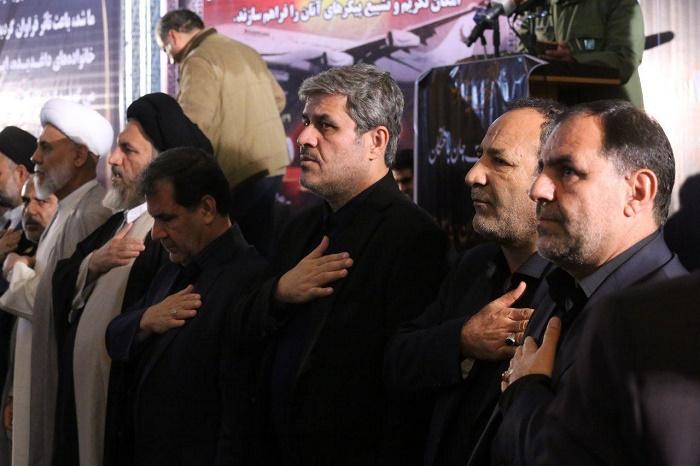 مراسم یادبود جان باختگان سانحه سقوط هواپیمایی پرواز تهران - یاسوج برگزار شد