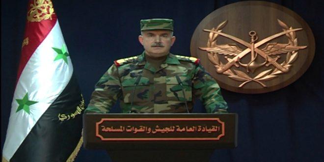 فرماندهی کل ارتش سوریه: 70 درصد غوطه شرقی پاکسازی شده است
