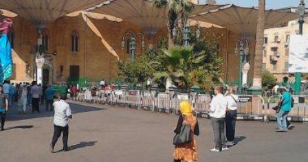 تدابیر امنیتی، روز عاشورا در اطراف  مسجد «راس الحسین (ع)» قاهره