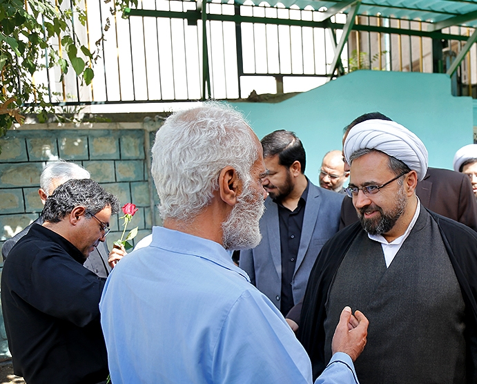 دیدار دبیر ستاد عالی کانونهای مساجد با قهرمانان ایران
