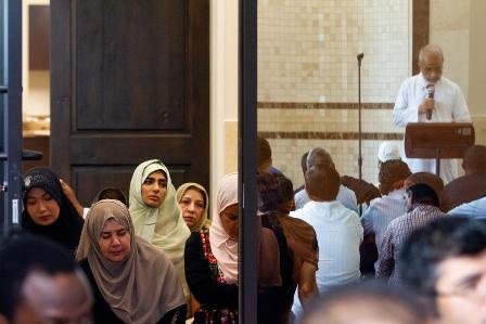 مسجد «ویکتوریا» در تگزاس «روز درهای باز مسجد» برگزار می کند