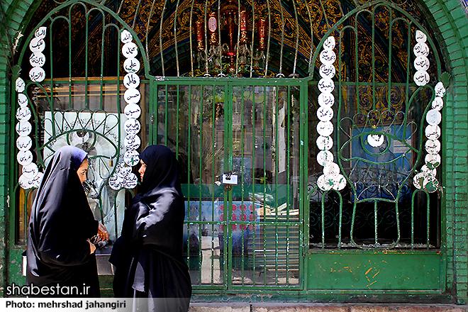 نقش گم شده سقاخانه های تهران