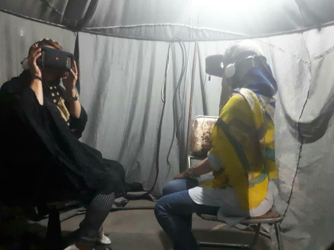 تجربه واقعه کربلا از طریق واقعیت مجازی