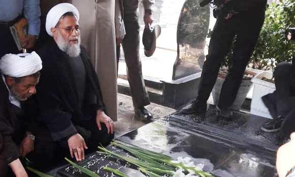 تجدید میثاق اعضای سازمان عقیدتی سیاسی ارتش با آرمانهای امام (ره)9 و شهدا