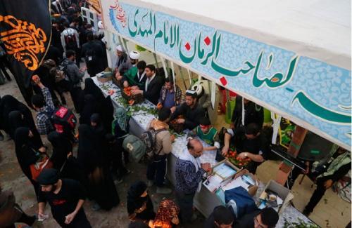 ارایه خدمات فرهنگی و رفاهی از سوی سه کانون مسجد خراسان رضوی در کاظمین