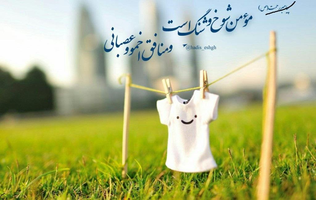 سیمای مومنان در اسلام،  بهجت و گشاده رویی است