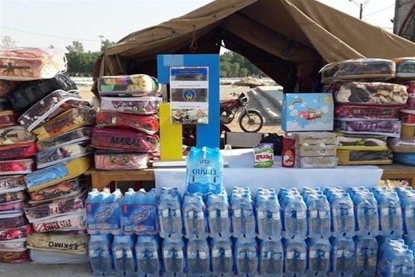 Image result for کمک مسجدی ها به سیل زدگان