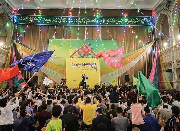 برگزاری جشن طایفه قراچه در شهر صدرا