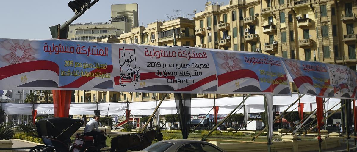 آغاز همه پرسی اصلاحات قانون اساسی در مصر