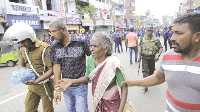 کشتار سریلانکا در عید پاک