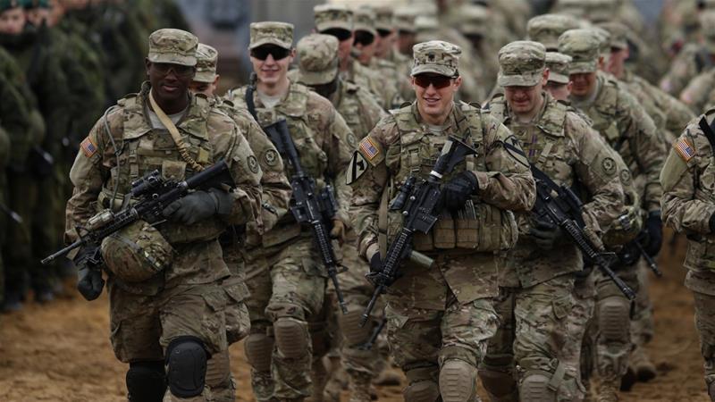 اعزام نیروهای نظامی آمریکا به خاورمیانه