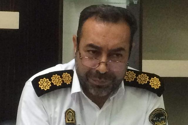 Image result for سرهنگ عبدی رئیس پلیس راه گلستان