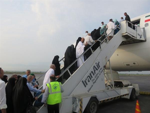 آخرین گروه زائران حج تمتع گلستان عازم سرزمین وحی شدند