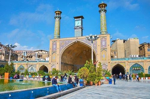 تدارک مساجد بازار تهران برای عید غدیر