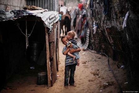 فقری که به مردم فلسطین در نوار غزه تحمیل شده است