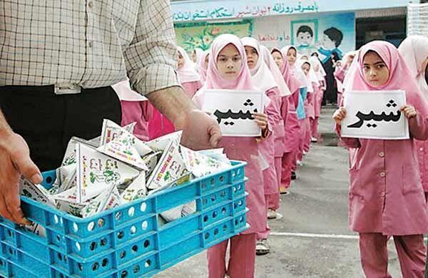 اختصاص یک هزار میلیارد ریال برای توزیع رایگان شیر مدارس