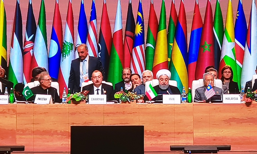 Image result for رئیس جمهور در اجلاس سران عدم تعهد در باکو: جنبش عدم تعهد قطب جدیدی از قدرت را در جهان چندقطبی آینده پایهگذاری کند