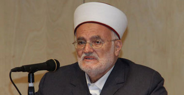 ممنوعیت ورود «عکرمه صبری» به مسجدالاقصی توسط صهیونیستها