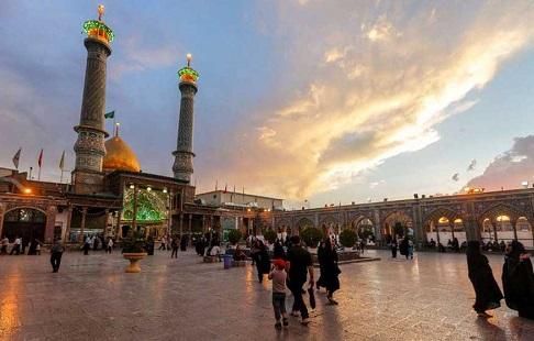 میزبانی آستان عبدالعظیم حسنی(ع) از عزاداران فاطمی