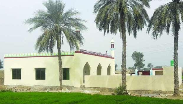 افتتاح مسجدی در «پنجاب» پاکستان به همت خیریه قطر