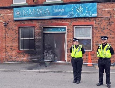 حمله به مسجد «لیدز» در انگلیس