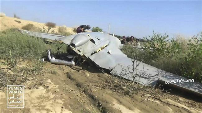 چهارمین پهباد سرنگون شده عربستان در یمن