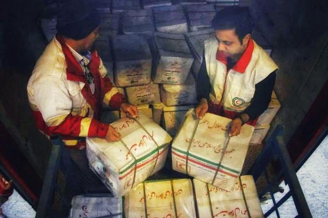 ارسال محموله امدادی جمعیت هلال احمر گلستان برای حادثه دیدگان سیل سیستان و بلوچستان