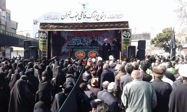 اجتماع بزرگ فاطمی جنوب تهران با همکاری 100 مسجد و هیئت/پیشنهاد کمک از سوی دستگاهها را رد کردهایم
