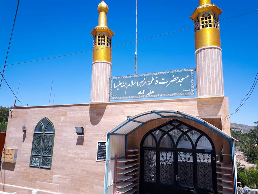 فعالیت اعضای کانون شهید رجایی علی آباد فنود در طرح «ایران قوی»