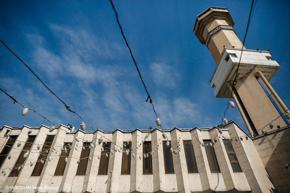 جمع آوری کمک های مردمی در مسجد نظام مافی تهران