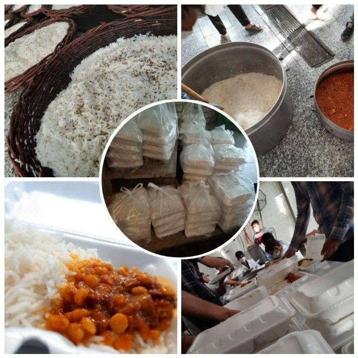 ۳ هزار پُرس غذای گرم بین زلزله زدگان سنخواست توزیع شد