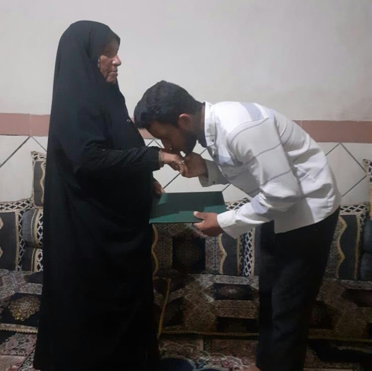 تجلیل از مادری موفق در طرح ملی سه شنبه های تکریم