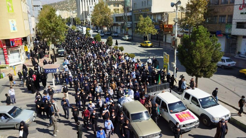 برگزاری مراسم جاماندگان اربعین حسینی در پایتخت طبیعت ایران