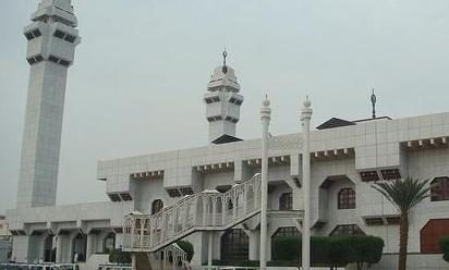 عکس مسجد تنعیم