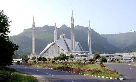 نتیجه تصویری برای مسجد فیصل پاکستان