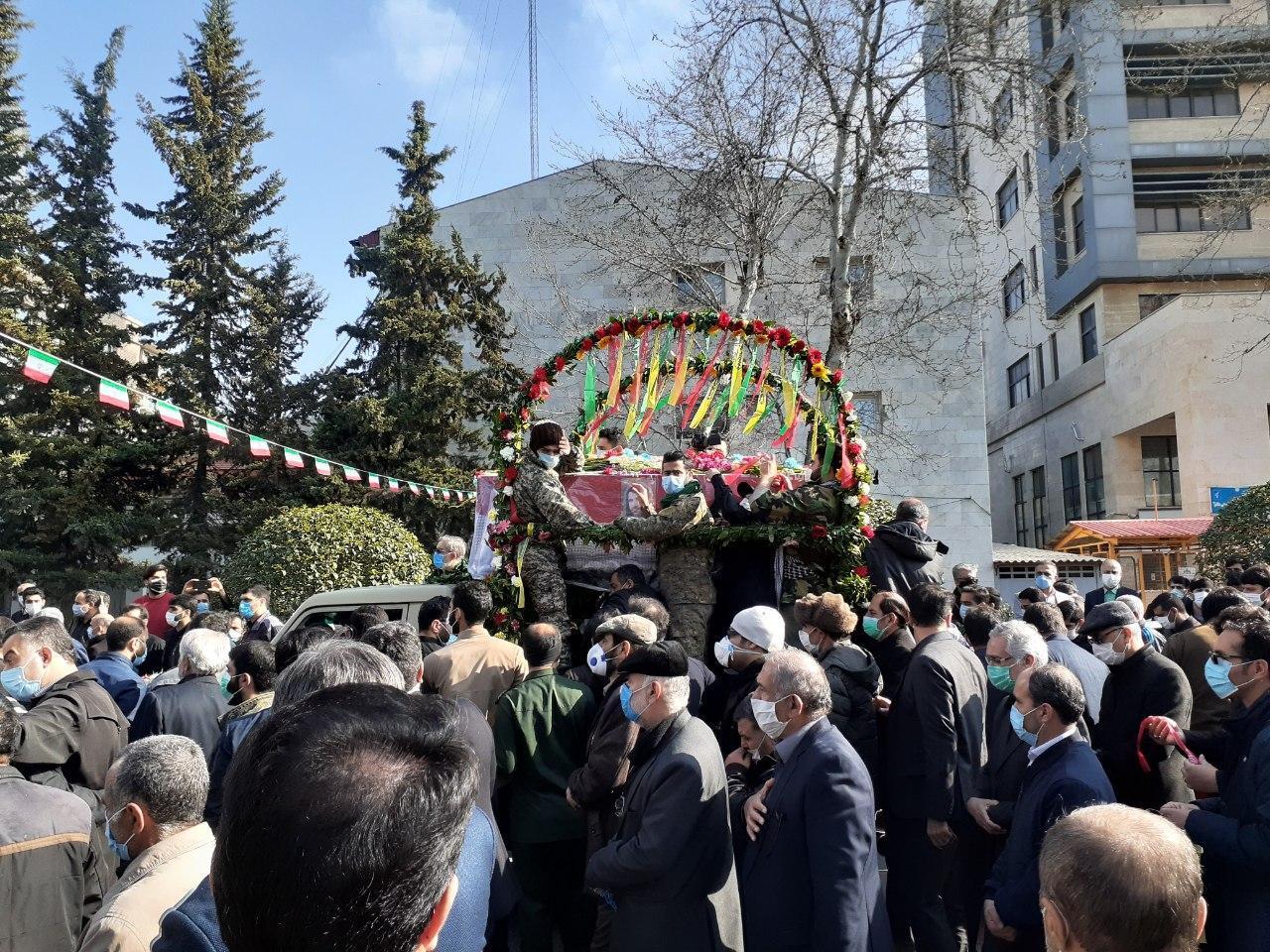 3(251) - تشییع و خاکسپاری شهید مصطفی نوروزی در ساری