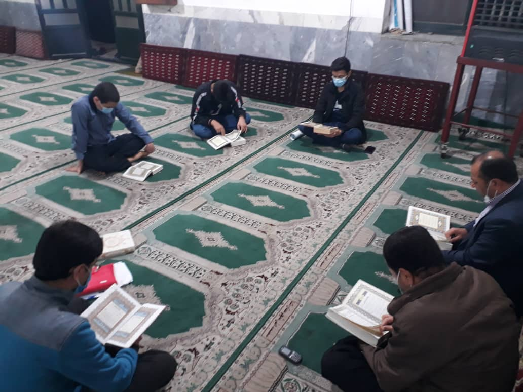 IMG 20210511 WA0025 - برگزاری جلسات قرآن و گره گشایی از مشکلات جوانان در کانون معرفت نکا